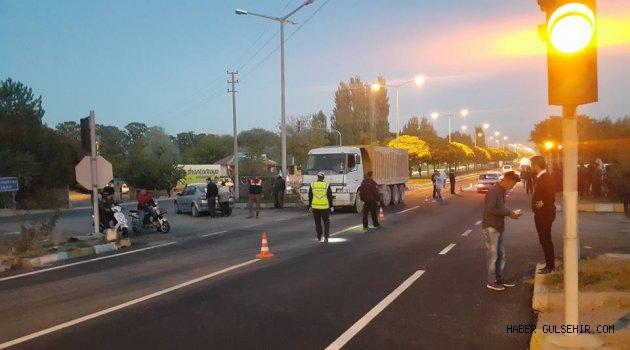 Gülşehir Çevre Yolunda Meydana Gelen Kazada 1 Kişi Hayatını Kaybetti.