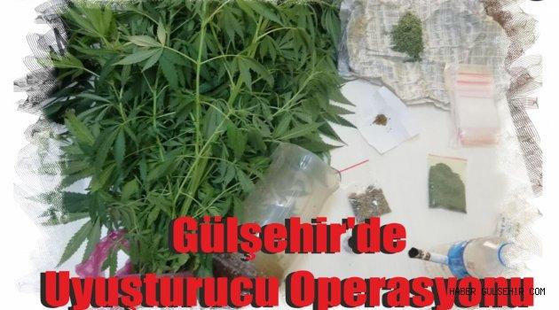 Gülşehir'de Uyuşturucu Operasyonu.