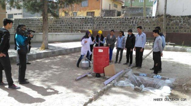 Gülşehir; EBA Fen Deneyleri Yarışmasında Başarı Ödülü Kazandı.
