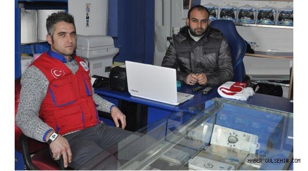 Gülşehir Gençlik Lideri Kayacı'dan Ateş'e ''10 Ocak'' ziyareti.
