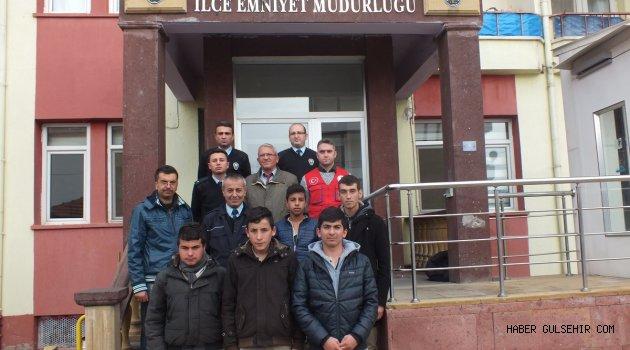 Gülşehir Gençlik Merkezinden Polisimin Yanındayım Ziyareti.