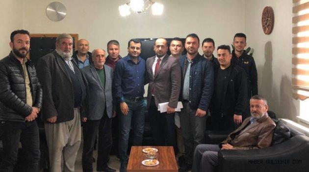 Gülşehir İlçe Esnaflarından Demirses, Belediye Başkan Aday Adayı Oldu.