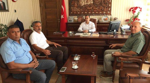 Gülşehir Turizm ve Doğal Kültürel Varlıkları Koruma Derneğinden Kaymamakam Tabur'a Ziyaret