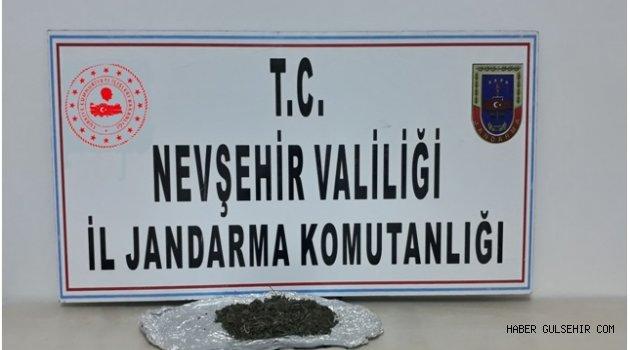 Gülşehir'de Bir İş Yerinde Kubar Esrar Yakalandı