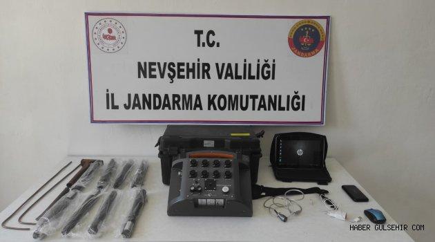 Gülşehir'de Defineci Operasyonu!