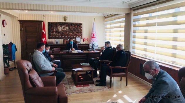 """Gülşehir'de """"Dinamik Denetim Süreci"""" Toplantısı ve Denetimi Gerçekleştirildi."""