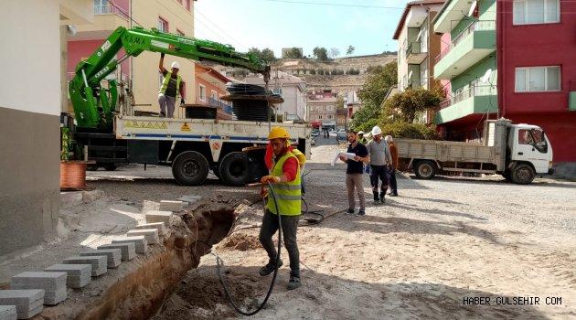 Gülşehir'de Elektrik Hattı Yer Altına Alınıyor