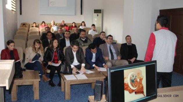 Gülşehir'de İstiklal Marşını Güzel Okuma Yarışması Düzenlendi