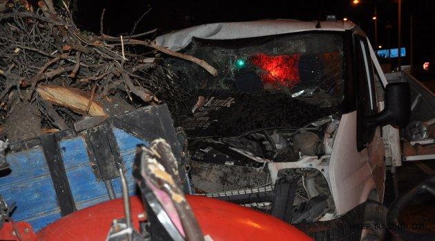 Gülşehir'de Meydana Gelen Kazada 3 Kişi Yaralandı!