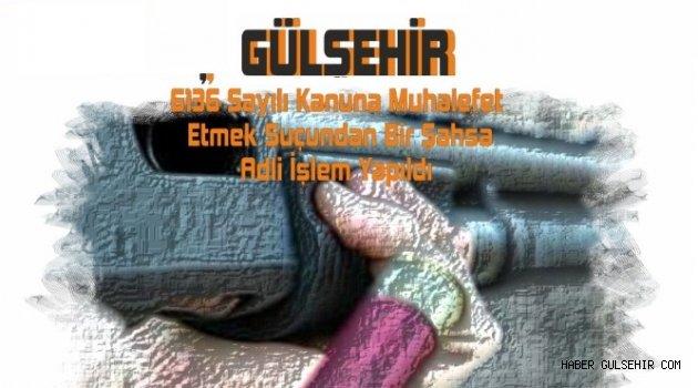 Gülşehir'de Yapılan Ev Aramasında; Tüfek, Tabanca, Fişek, G3 mermisi, Ele Geçirildi