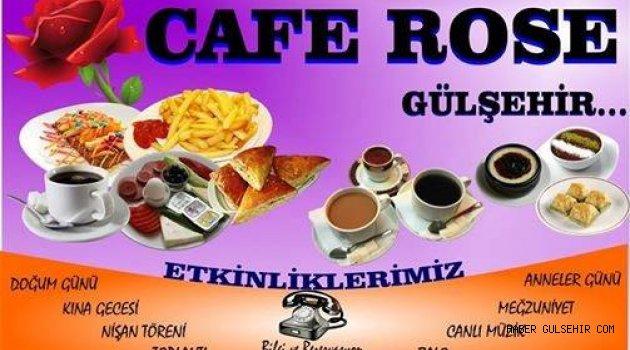Gülşehir'de yeni açılan Gül Cafe her hafta Pazartesi ve Perşembe canlı müzik düzenliyor.
