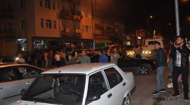 Gülşehirli Vatandaşlardan Seçim Kutlaması. GÖRÜNTÜLÜ HABER