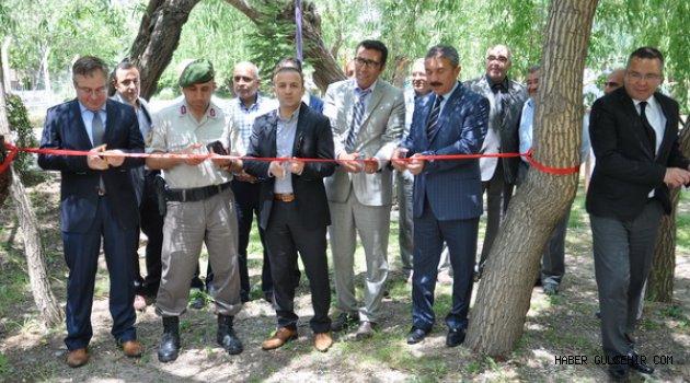 Gümüşkent Rehabilitasyon Merkezi Sadabad Parkında Sergi Açtı