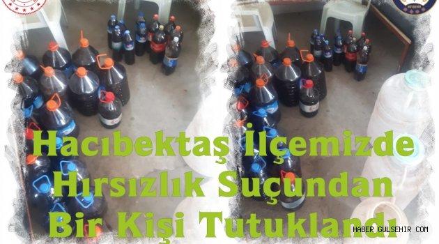 Hacıbektaş İlçesinde Hırsızlık Suçundan Bir Kişi Tutuklandı.