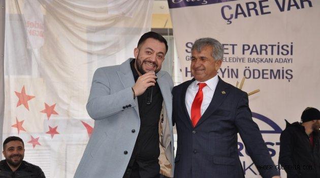 Hafta Sonu Gülşehir'de Hüseyin Kağıt Rüzgarı Esti.