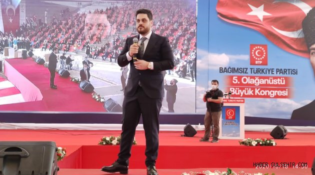 """HÜSEYİN BAŞ: KENDİMİ TÜRKİYE'NİN BAĞIMSIZLIĞINA ADIYORUM"""""""