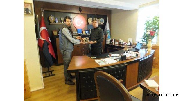 İHH'dan Başkan, Ercan ERTAŞ'a  teşekkür plaketi.