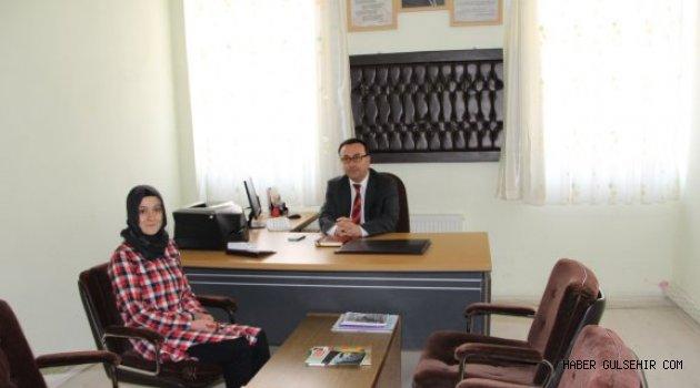 İlçe Milli Eğitim Müdürü Ceylan, Rehber Öğretmenleri Denetledi.