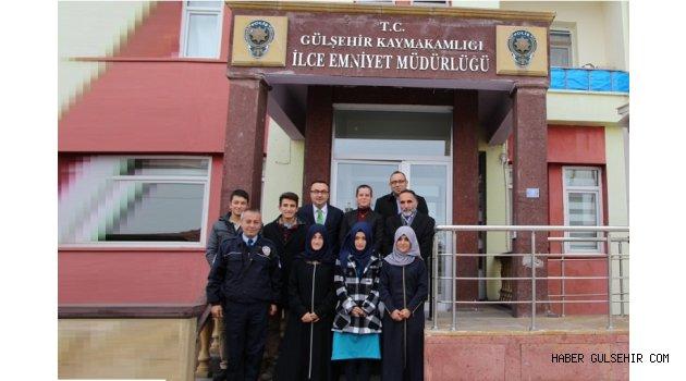 İlçe Milli Eğitim Müdürü Ceylan ve Beraberindekiler'den Emniyet Müdürü Çağlı'ya Taziye ziyareti.