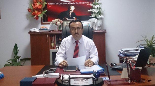 İlçe Milli Eğitim Müdürü CEYLAN'ndan 2015-2016 Eğitim ve Öğretim Yıl Sonu Mesajı.