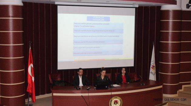 """""""IPARD II"""" Programı Tanıtım Toplantısı Yapıldı."""