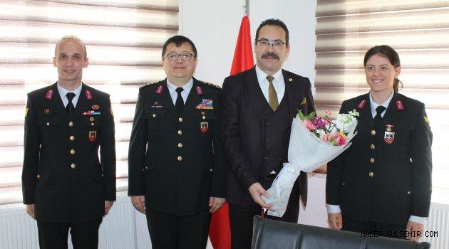 Jandarma Komutanı Yiğit'ten NGC'ye ziyaret