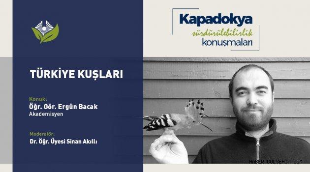 """Kapadokya Üniversitesi, Sürdürülebilirlik Konuşmaları"""" Youtube canlı yayını yapıldı."""