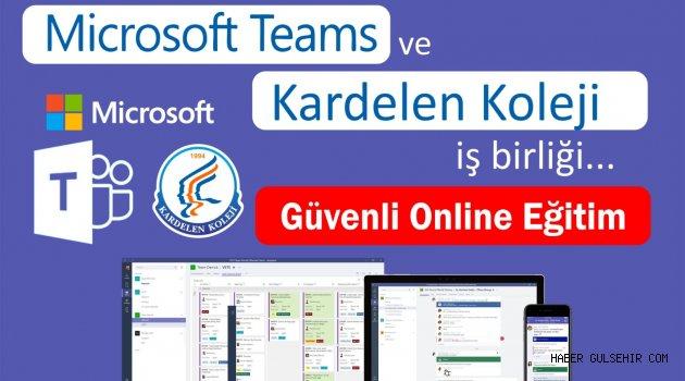 Kardelen Koleji Microsoft Teams ile Uzaktan Eğitime Damga Vurdu