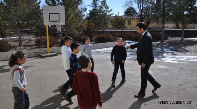 Kaymakam Baytok'dan Gümüşkent Köyüne ziyaret.