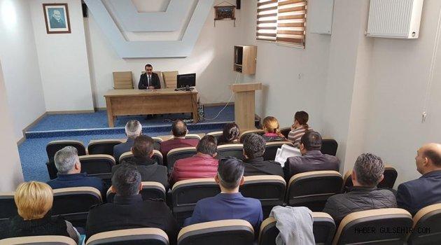 Kaymakam TEKİN Başkanlığında, Proje Değerlendirme Toplantısı Gerçekleştirildi.