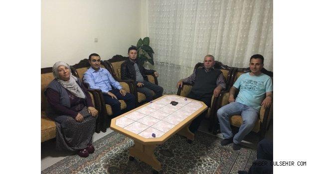 Kaymakam Tekin'den Şehit Semih Turgut'un Baba Evine Ziyaret.