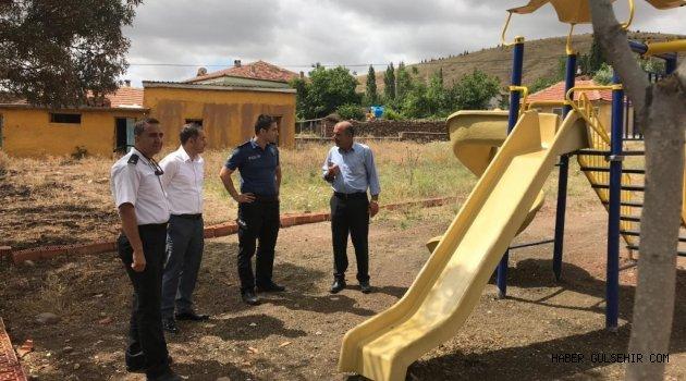 Kullanılmayan Çocuk Parkı Gülşehir, Gümüşyazı Köyü'ne Taşındı