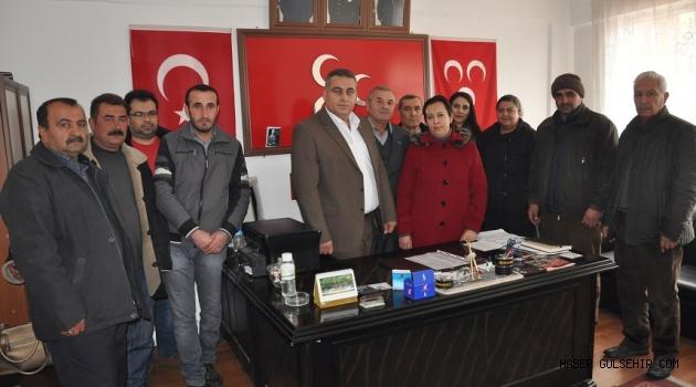 MHP Gülşehir İlçe Yönetimi ilk Toplantısını Yaptı.