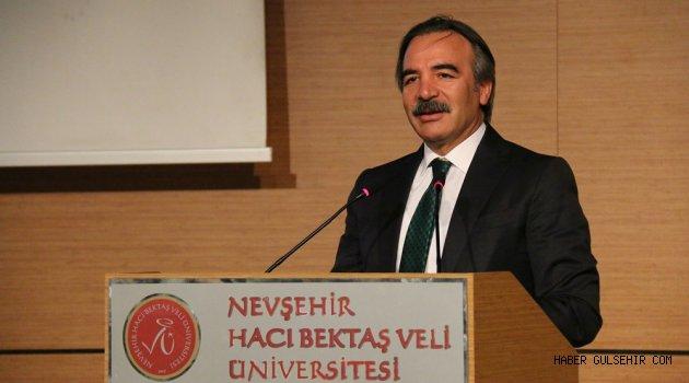 Rektör  Bağlı ''Çok Kültürlülük ve Birlikte Yaşamak'' Üzerine Konuştu