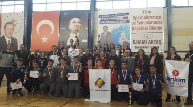 Masa Tenisi Gençler Türkiye Birinciliği Müsabakaları Tamamlandı.
