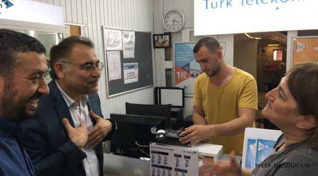 """Menekşe, """"Avanos Güçlü Meclis Güçlü Türkiye'ye Hazır"""""""