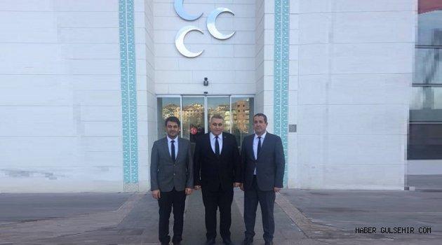 MHP İl Başkanı Kaya, Parti genel merkezinde ziyaretlerde bulundu.