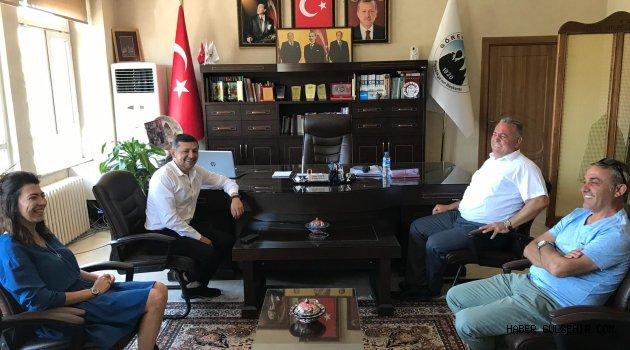 MHP Kütahya Milletvekili Ahmet Erbaş Başkan Eren'i Makamında Ziyaret Etti