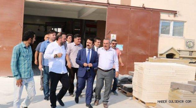 Milletvekili Göktürk ve Vali Aktaş'dan S.S. Kapadokya Küçük Sanayi Sitesi Yapı Kooperatifi'ne ziyaret.