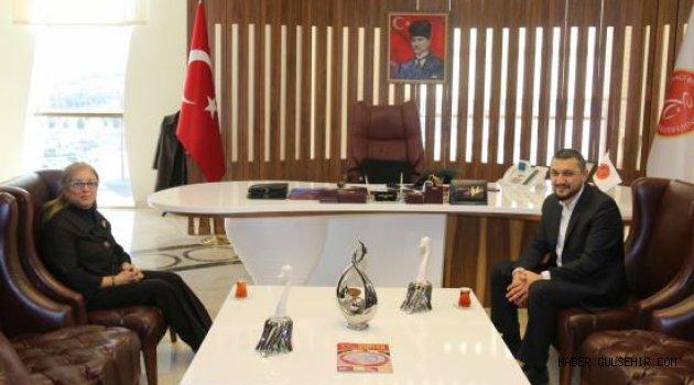 Milletvekili Mustafa Açıkgöz'den Rektörümüze Ziyaret