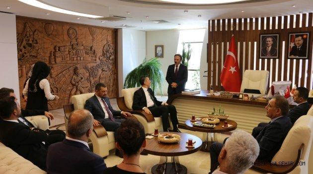 Milli Eğitim Bakanı Prof. Dr. Ziya Selçuk NEVÜ'de