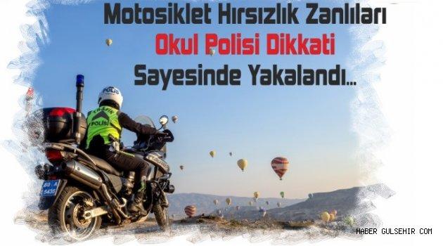 Motosiklet Hırsızları Polisin Dikkati Sayesinde Yakalandı.