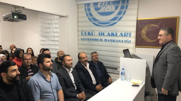 """Mustafa Karataş """"Köycülük"""" anlattı"""