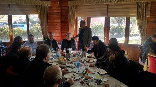 Nevşehir Barosu, Nevşehirspor İçin Sabah Kahvaltı Programı Düzenledi