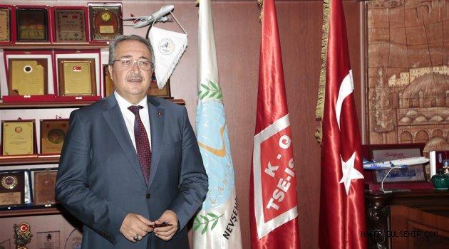 Nevşehir Belediye Başkanı Ünver:''Milletimizin Başı Sağolsun''