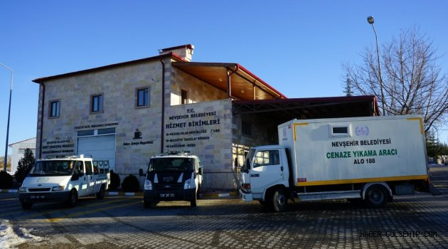 Nevşehir Belediyesi Cenaze Hizmetleriyle'de Takdir Topluyor
