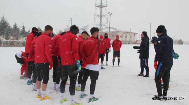 Nevşehir Belediyespor, Diyarbekirspor AŞ maçına hazırlanıyor