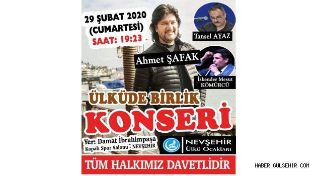 Nevşehir'de Cumartesi günü dev konser var
