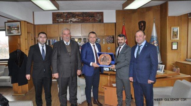 Nevşehir Dernekler Federasyonu, Başkan İbaş'ı ziyaret etti.