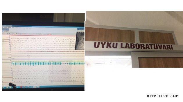 Nevşehir Devlet Hastanesinde 2 yataklı Uyku Laboratuvarı hizmete girdi.